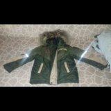 Куртка и полукомбез. зима.. Фото 1.