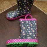 Резиновые сапоги для девочки. Фото 2.