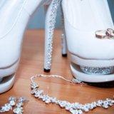Туфли свадебные. Фото 1.