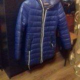 Куртка зимняя двухсторонняя. Фото 2.