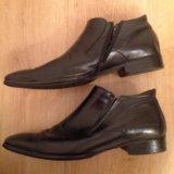 Туфли мужские кожаные,45. Фото 3.