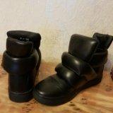 Новые ботинки-сникерсы 36 р-р. Фото 1.