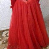Бальное платье+перчатки. Фото 4. Пермь.