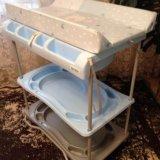 Ванночка для купания с пеленальным столиком. Фото 1.