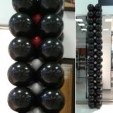 Гирлянда из шаров металлик. Фото 4.