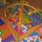 Развивающий коврик tiny love зоосад. Фото 1.
