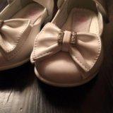 Туфли белые 24р.. Фото 2.
