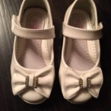 Туфли белые 24р.. Фото 1.