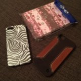 2 чехла для iphone и блокнот. Фото 1.
