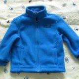 Продам детская флисовая куртка jack wolfskin. Фото 1.