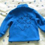 Продам детская флисовая куртка jack wolfskin. Фото 4.