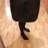 Объемная кожаная сумка. Фото 2. Орел.