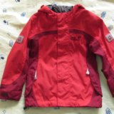 Продам куртка мембранная jack wolfskin girls topaz. Фото 1.