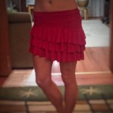 Танцевальная юбка (латина). Фото 1.