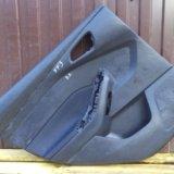 Обшивка двери задняя левая форд фокус 3 focus 3. Фото 1.