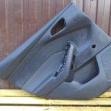 Обшивка двери задняя левая форд фокус 3 focus 3. Фото 2.