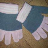 Детские перчатки. Фото 1.