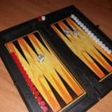 Магнитная доска 3в1 шахматы, шашки, нарды. Фото 3. Казань.