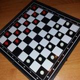 Магнитная доска 3в1 шахматы, шашки, нарды. Фото 4. Казань.