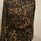 Леопардовая блузка. Фото 2.