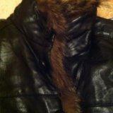 Куртка зимняя тренч. Фото 4.