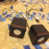 Колонки для компьютера-ноутбука,играют на 5 из 5. Фото 1.