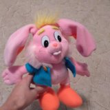 Розовый зайчик. Фото 1.