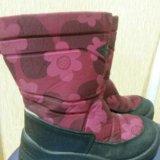 Детские зимние ботинки kuoma. Фото 1.