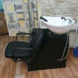 Парикмахерская мойка и кресло. Фото 4.