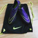 Nike hypervenom phantom фиолетовые. Фото 1.