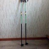 Комплект лыжи, ботинки, палки. Фото 4. Киров.