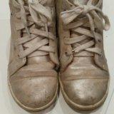 Кожаные ботинки. Фото 2.