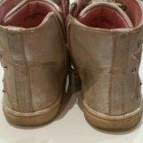 Кожаные ботинки. Фото 3.