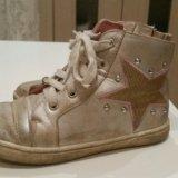 Кожаные ботинки. Фото 4.