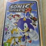 Игра на psp sonic rivals 2. Фото 2.