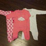 Одежда для девочки 0-3 месяца. Фото 1.