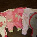 Одежда для девочки 0-3 месяца. Фото 2.