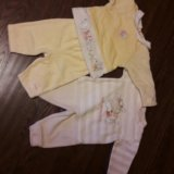 Одежда для девочки 0-3 месяца. Фото 3.