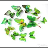 Бабочки декоративные. Фото 4.