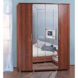 Шкаф четырехдверный амели 4-5200. Фото 1. Москва.