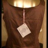 Новое платье атласное 46-48 размер лиловое. Фото 2.
