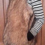 Меховой жилет zara м. Фото 2.
