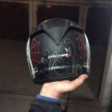 Мотоциклетный шлем. Фото 2.