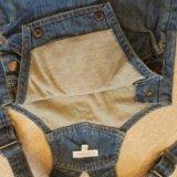 Детские вещи джинсовый кобинезон. Фото 1. Краснодар.
