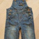 Детские вещи джинсовый кобинезон. Фото 3. Краснодар.