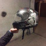 Мотоциклетный шлем. Фото 4.