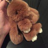Брелок-кролик, натуральный мех. Фото 1. Москва.