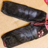 Зимние джинсы для девочек. Фото 1. Красногорск.