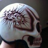 Шлем череп. Фото 2.