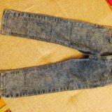 Джинсовые брюки для девочек. Фото 3. Красногорск.